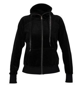 Blue Sportswear Jacket Konstanz velvet Black