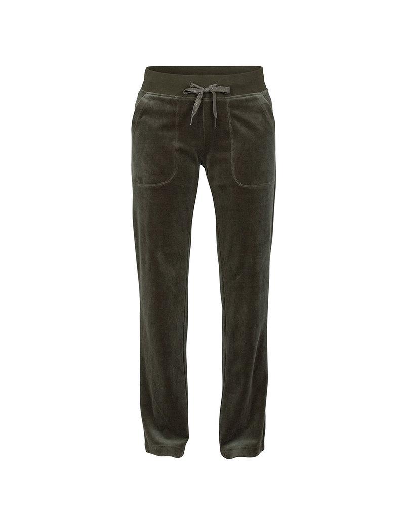 Blue Sportswear Pants Konstanz velvet D.olive