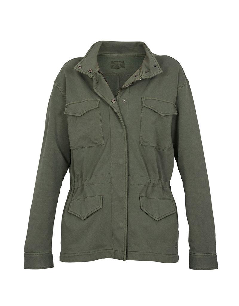 Blue Sportswear Jacket New York sweat D.olive