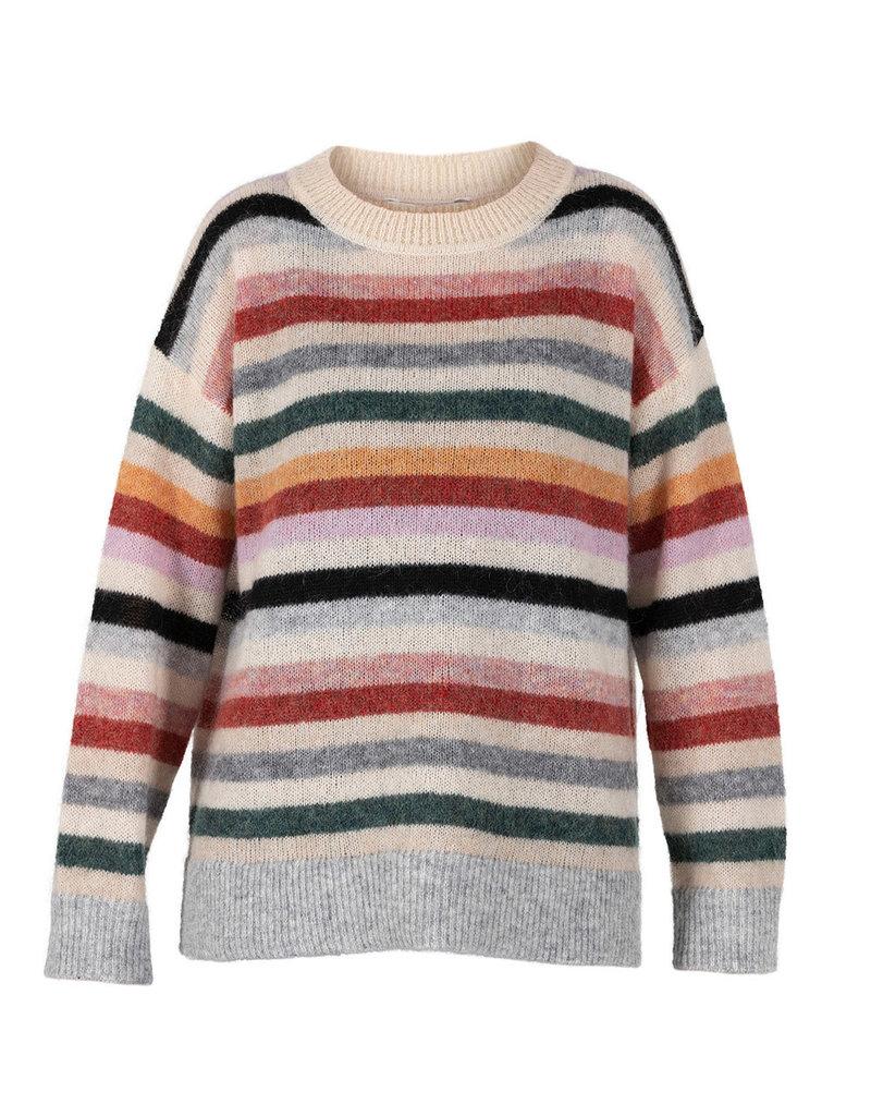 Blue Sportswear Pull knit Maximin Multistripe