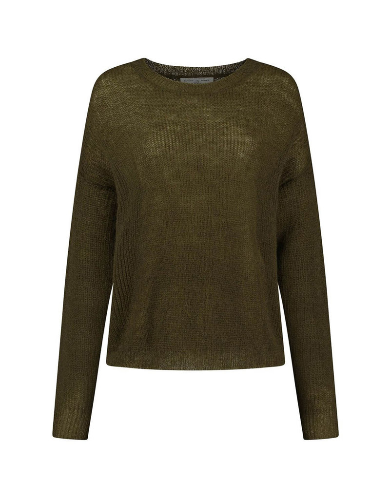 Circle of Trust Pull Janey knit D.army