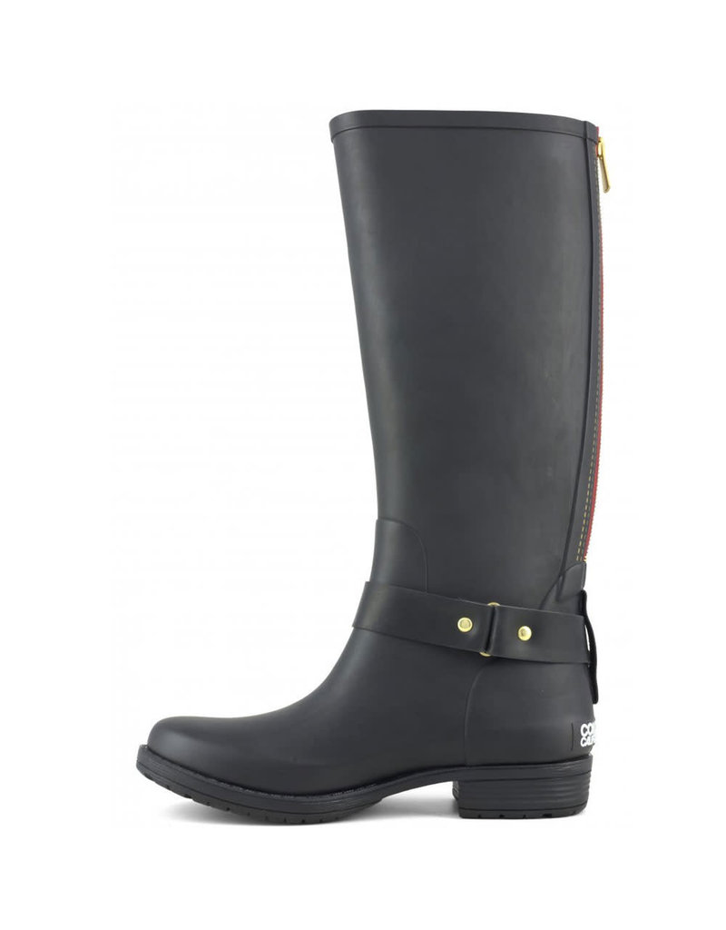 Colors of California Boot high rubber Camperos Black