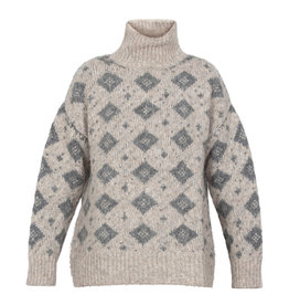 Blue Sportswear Pull knit Davos Ecru grey