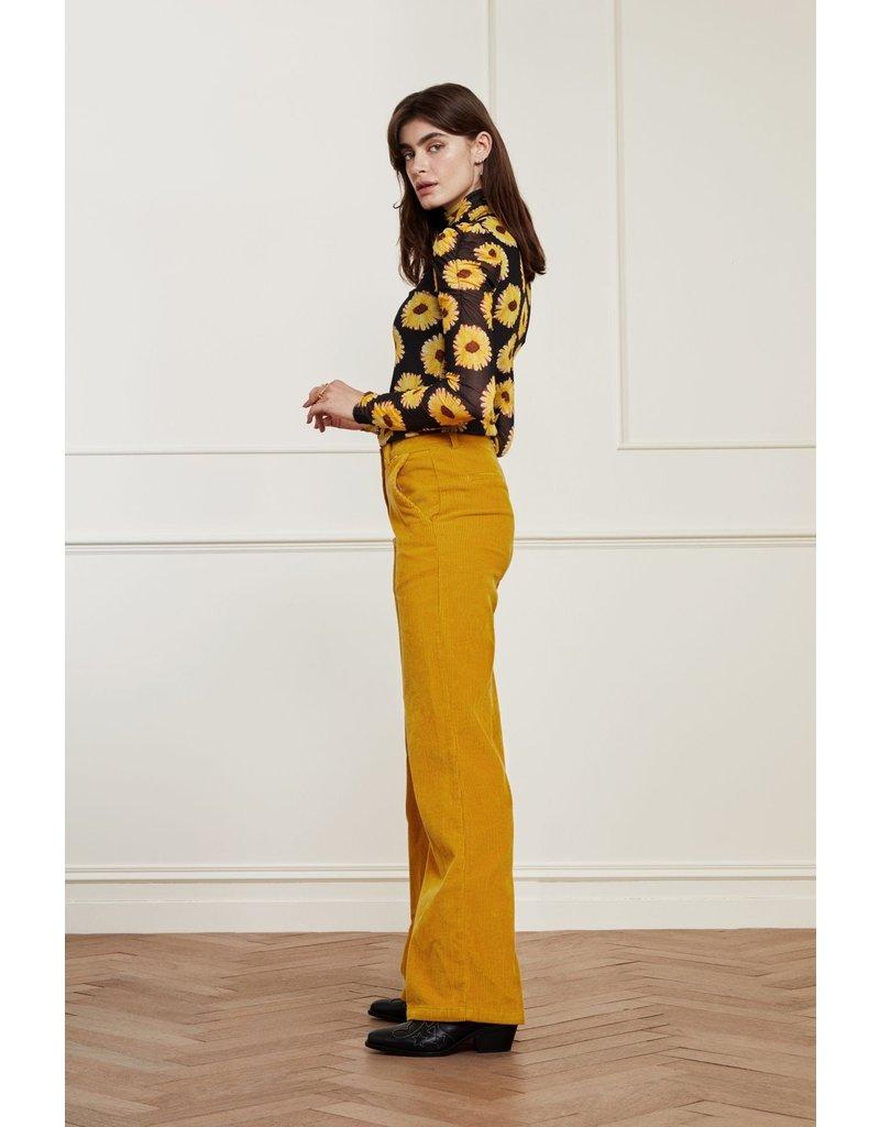 Fabienne Chapot Trousers Elodie Saffron