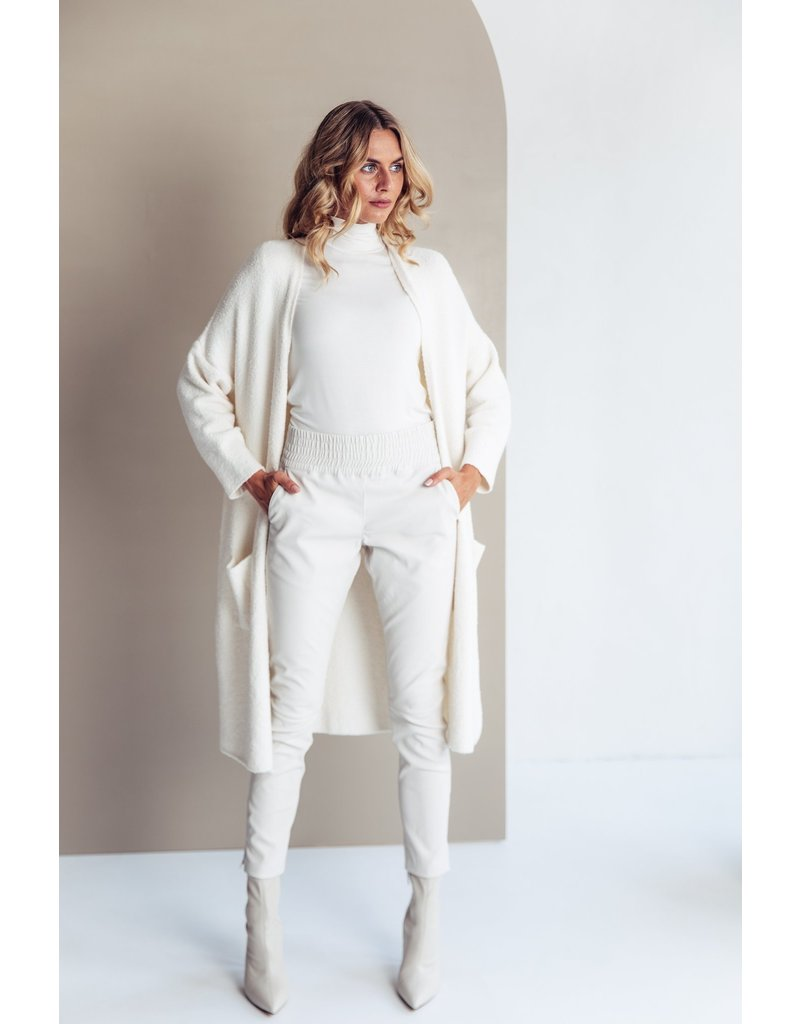 Be Pure Pants 22229 leer O.wh/bl