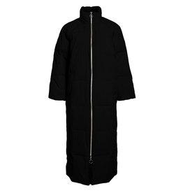 Object Angea Down long coat 116 Black