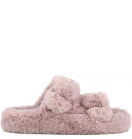 Colors of California Slipper Furry Pink