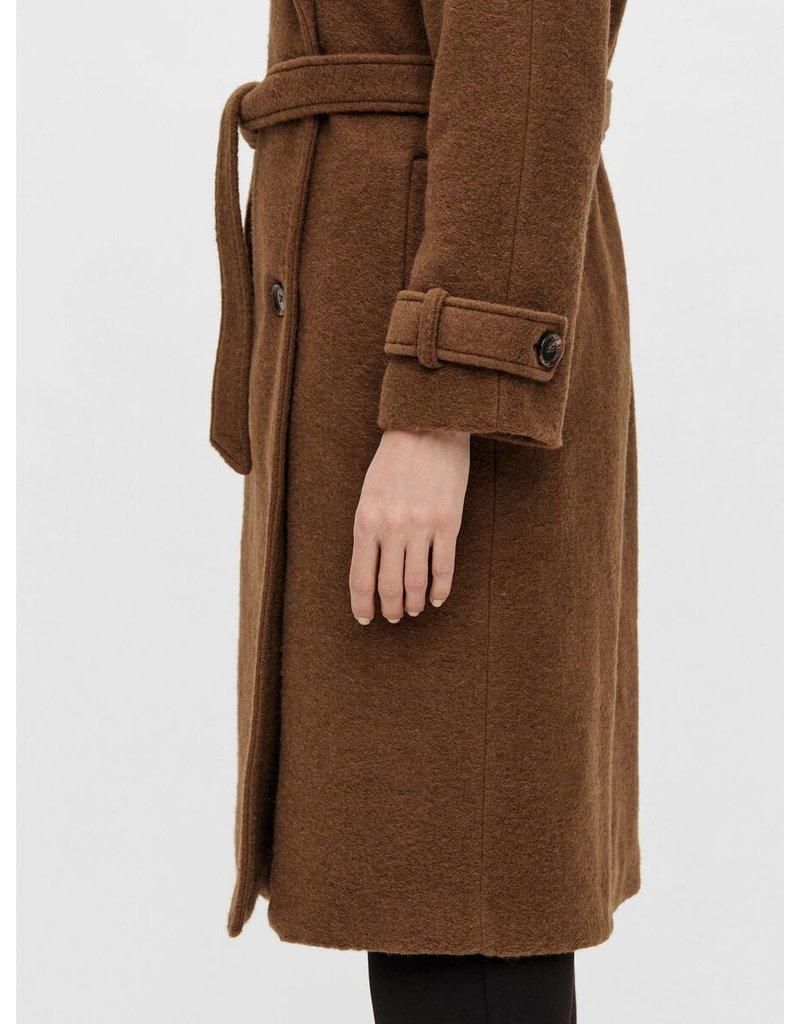 Object Alice Coat 116 Sepia