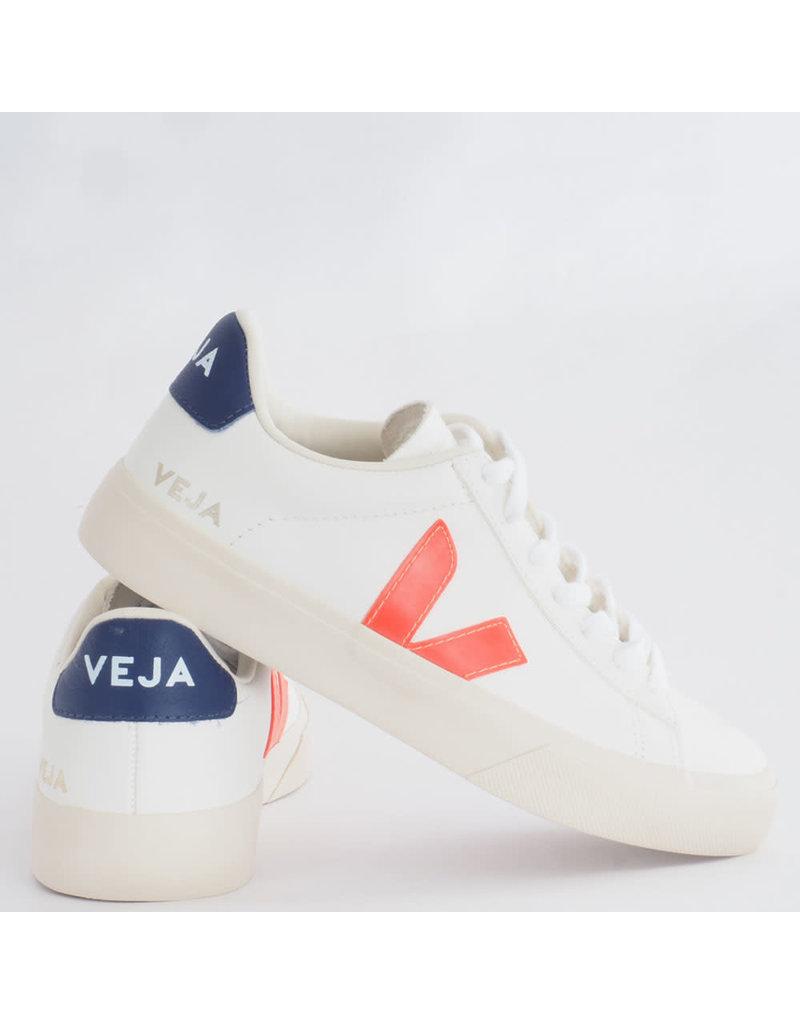 Veja Sneaker Campo White/Orange Fluo