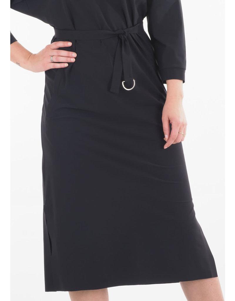 Japan TKY Dress Wada kaftan D.black