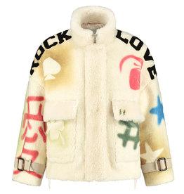 Goosecraft Coat Lola spray a.White