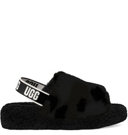 Ugg Slide Fluff Yeah Black