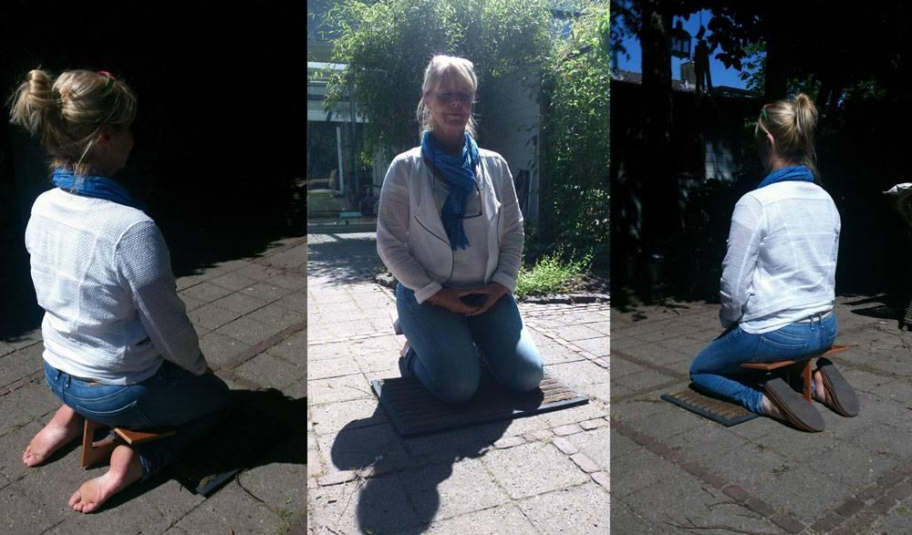 Eline Snel Méditation Tabouret pliable pour les adultes.