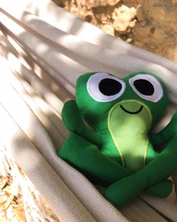 Frog Plüsch