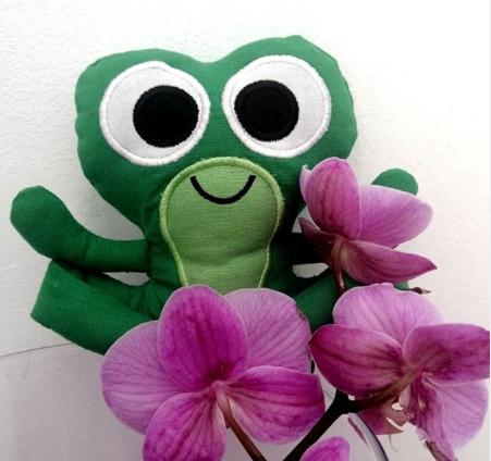 Peluche grenouille