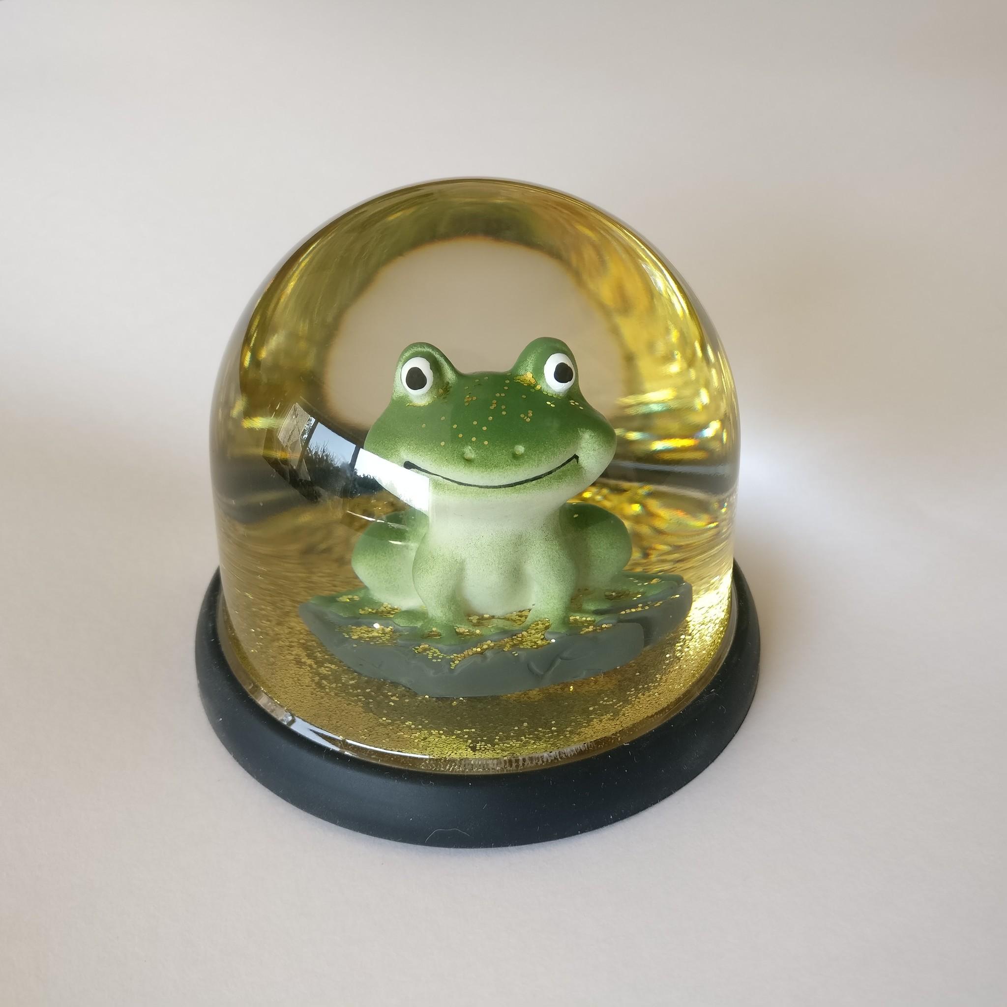 Eline Snel Anillo de protección de silicona para bola de cristal con ranita