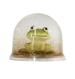 Eline Snel Frog snow ball