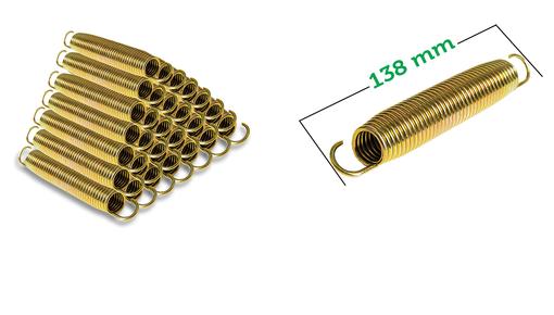 Trampolin Federn 13,8cm (138mm)