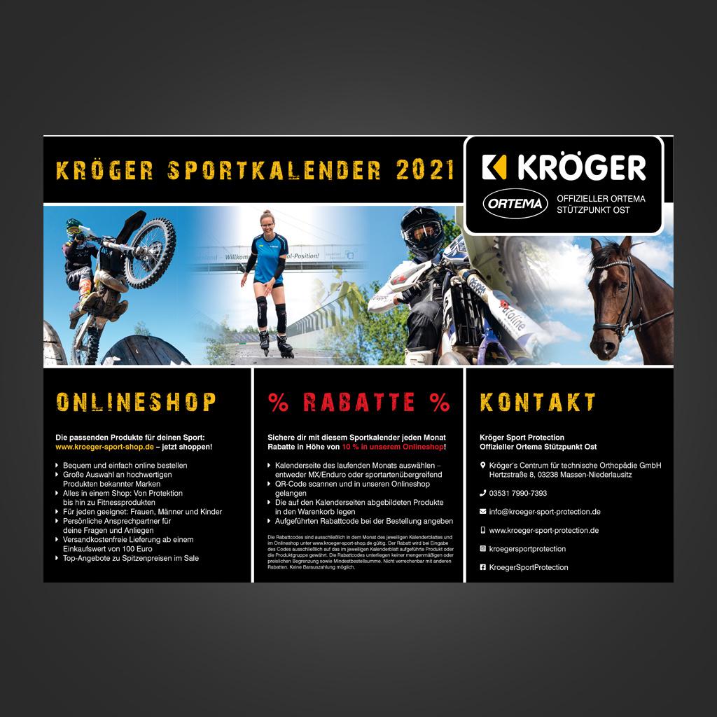 Sportkalender 2021 - Wandkalender