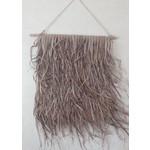 Wandkleed gevlochten Palmblad M