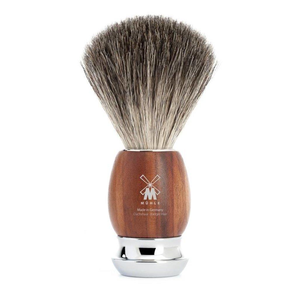 Shaving Brush Pure Badger - Plum wood