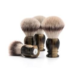Shaving Brush Silvertip Fibre®- High-grade resin Horn brown