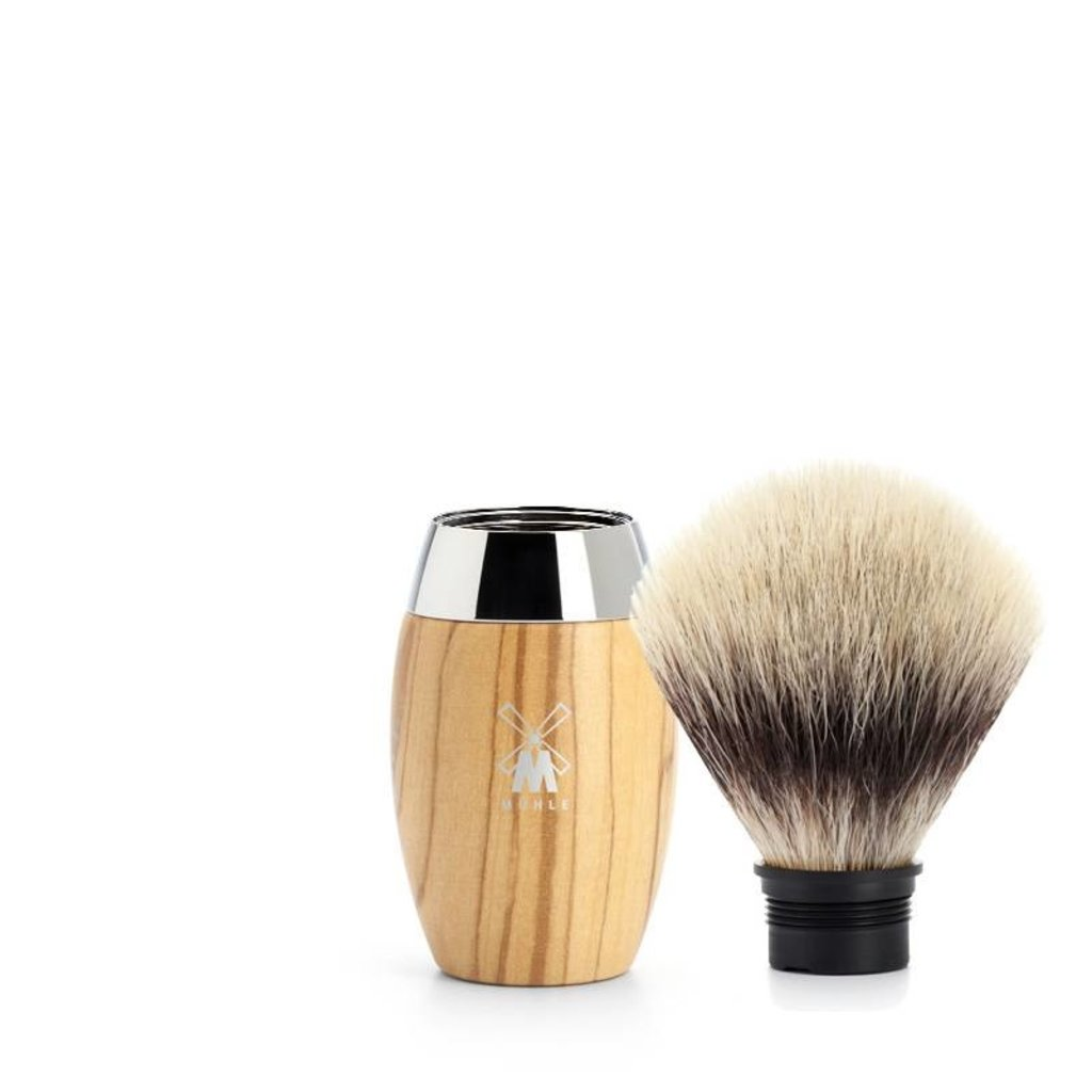 Shaving Brush Silvertip Fibre®- Olive wood