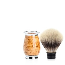 Shaving Brush Silvertip Fibre® - Maserbirke