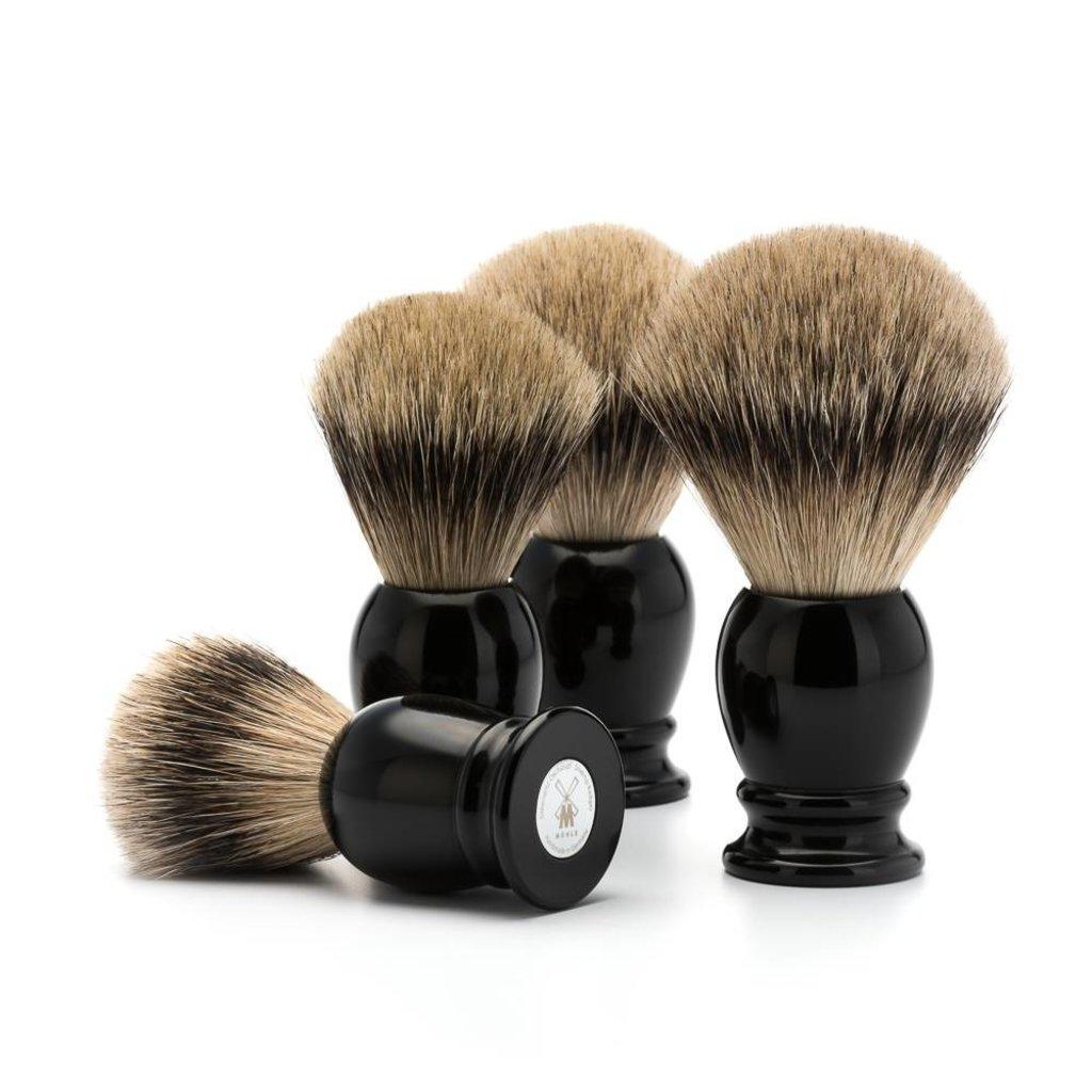 Shaving Brush Silvertip Badger - Black