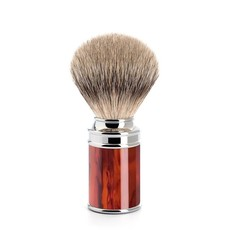 Shaving Brush Silvertip Badger - Turtle