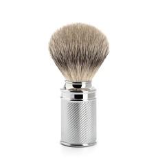 Shaving Brush Silvertip Badger - Chrome