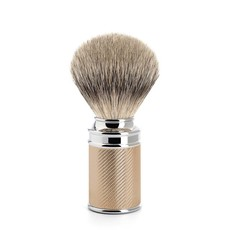 Shaving Brush Silvertip Badger - Rosegold