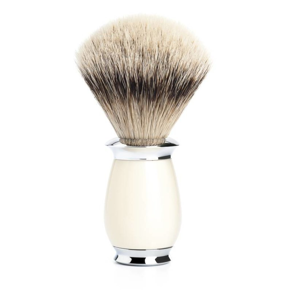 Shaving Brush Silvertip Badger - Ivory