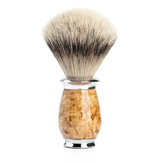 Shaving Brush Silvertip Badger - Maserbirke