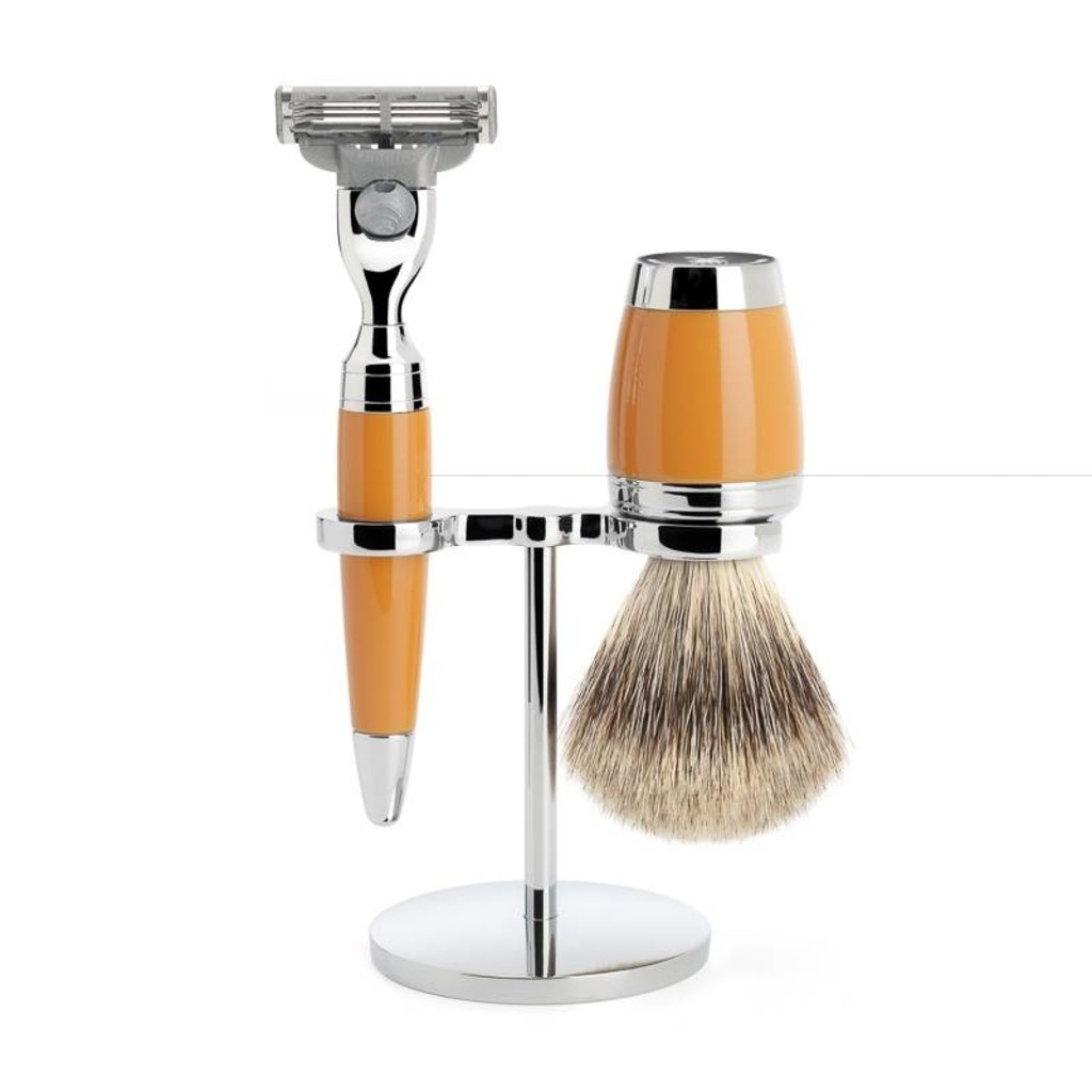 Shaving Set Stylo 3-part - Butterscotch - Mach3®