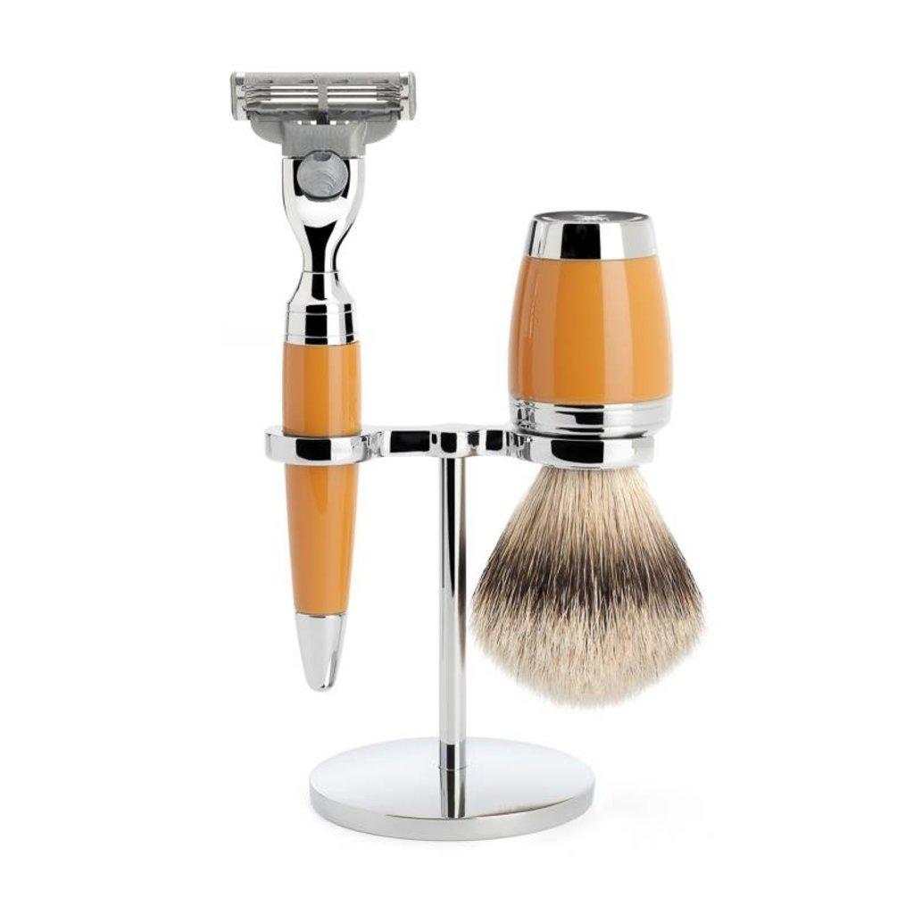 Shaving Set Stylo 3-part - Butterscotch - Mach3®