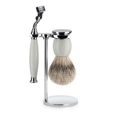 Shaving Set Sophist 3-part - Porcelain - Mach3®
