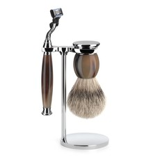 Shaving Set Sophist 3-part - Genuine horn - Mach3®