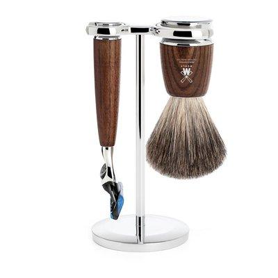 S81H220F - Shaving Set Rytmo - Steamed ash - Fusion® - Badger