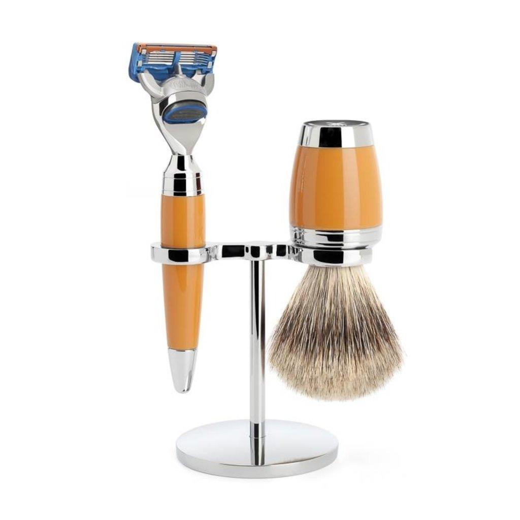 Shaving Set Stylo 3-part - Butterscotch - Fusion®