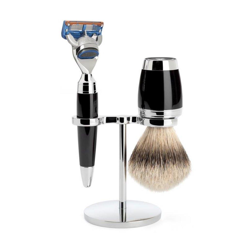 Shaving Set Stylo 3-part - Black - Fusion®