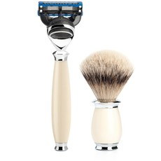 Shaving Set Purist 3-part - Ivory - Fusion®