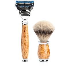 Shaving Set Purist 3-part - Maserbirke - Fusion®