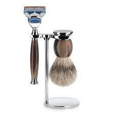 Shaving Set Sophist 3-part - Genuine horn - Fusion®