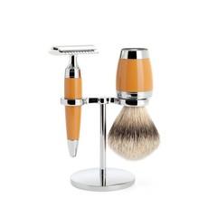 Shaving Set Stylo 3-part - Butterscotch - Saf.Razor