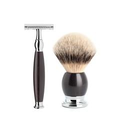 Shaving Set Sophist 4-part - Blackwood - Saf.Razor