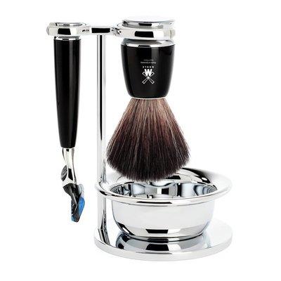 S21M226SF - Shaving Set Rytmo - Black - Fusion® - Fibre®