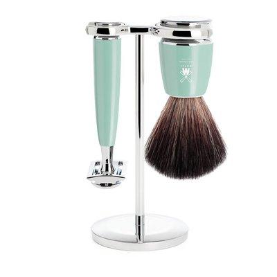 S21M224SR - Shaving Set Rytmo - High-grade resin Mint - Saf.Razor - Fibre®