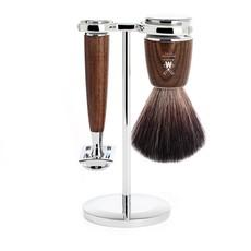 Shaving Set Rytmo 3-part - Steamed ash - Saf.Razor