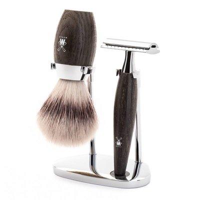 S31H873SR - Shaving Set Kosmo - Bog Oak - Saf.Razor - Fibre®